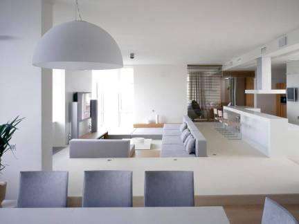 120平客厅室内装修设计