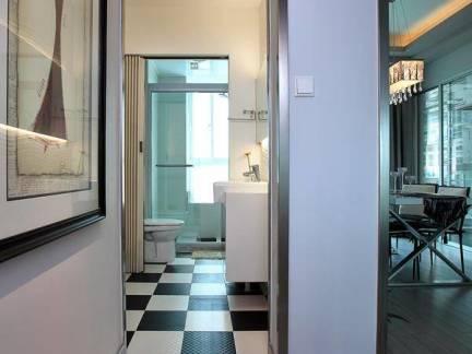 现代五居室不锈钢地脚线图片欣赏