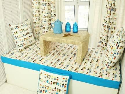 现代儿童房榻榻米效果图欣赏
