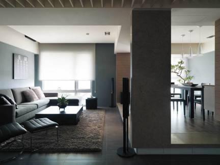 现代小户型客厅室内装修设计