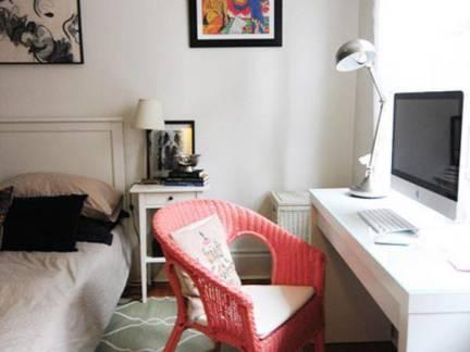 时尚四室两厅儿童房书桌装修设计