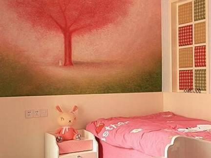 温馨儿童房墙面挂画图片欣赏