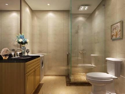 五居室卫生间浴室柜装修设计