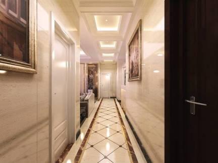 豪华欧式别墅走廊集成吊顶图片欣赏