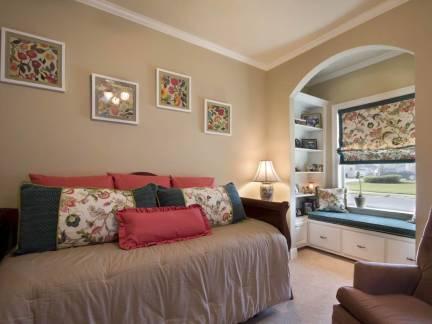 美式风格小户型客厅照片墙装修设计