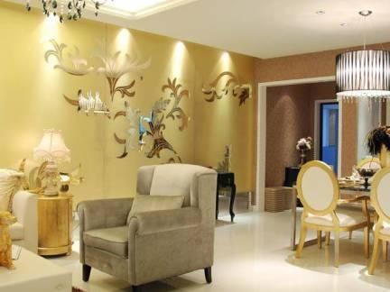 简欧风格别墅墙面装饰效果图欣赏