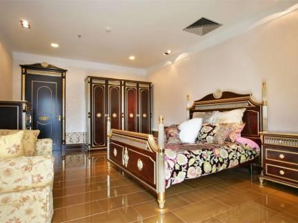 奢华欧式别墅卧室整体装修设计