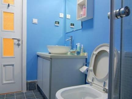 地中海风格四居室卫生间洗手台效果图欣赏
