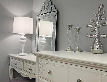 欧美卧室梳妆台装修设计