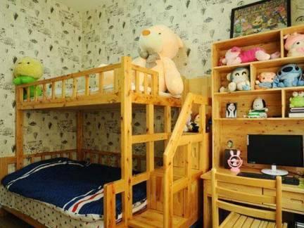 简约风纯真时代儿童房装饰效果图