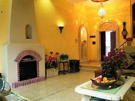 美式风格三居室客厅茶几壁炉设计合集