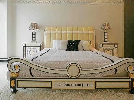 创意设计三居室卧室个性床头柜效果图欣赏