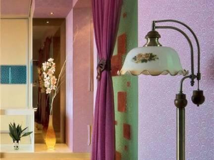 二居室新房粉色系主体精装设计