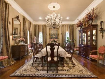 美式风格别墅餐厅室内家居装修设计
