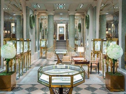 国外豪华珠宝店室内设计效果图片