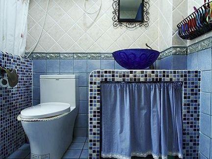 地中海风格卫生间整体卫浴图片欣赏