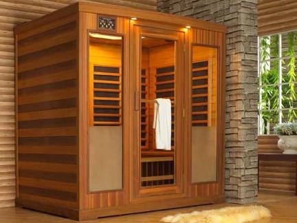 日韩风格别墅淋浴间桑拿房外观图片欣赏