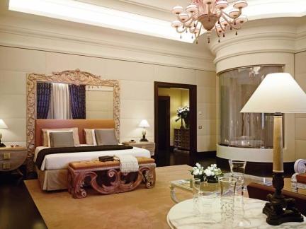 宾馆豪华套房室内装修效果图
