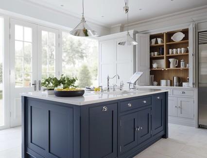 精致现代风格大户型别墅开放式厨房设计