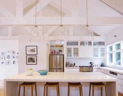 现代华美地中海风格三居室餐厅吧台设计特效图
