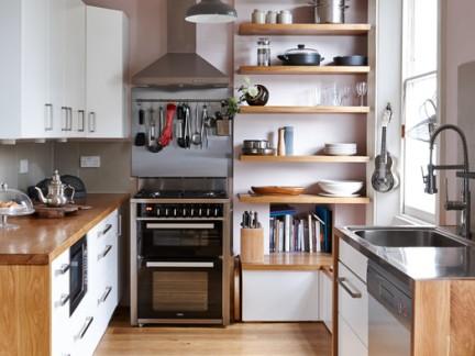 小型别墅厨房橱柜装修设计