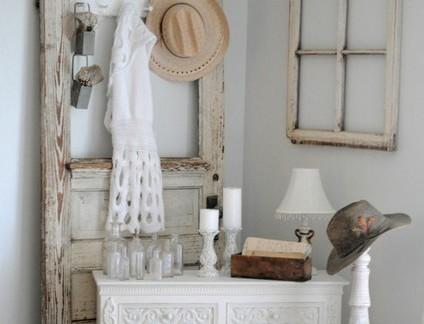 乡村美式风格小户型卧室梳妆台装修设计