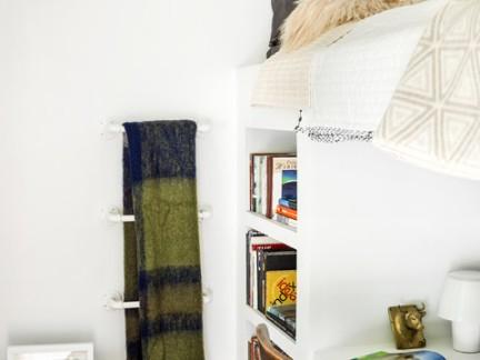 北欧风格小户型书房连体书桌装修设计