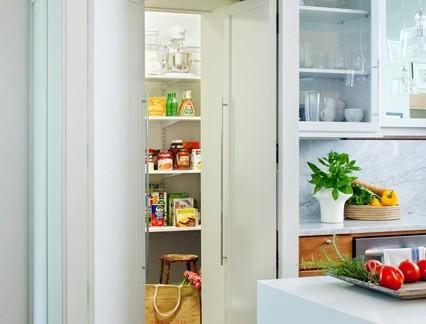 家装厨房储藏室白色橱柜设计合集