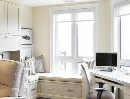 美式别墅家庭办公室室内装修设计
