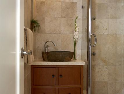 新中式卫生间浴室柜装修设计