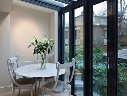 时尚简欧风格餐厅室内装修设计