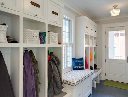 简约大户型住房衣帽间定制整体衣柜效果图欣赏