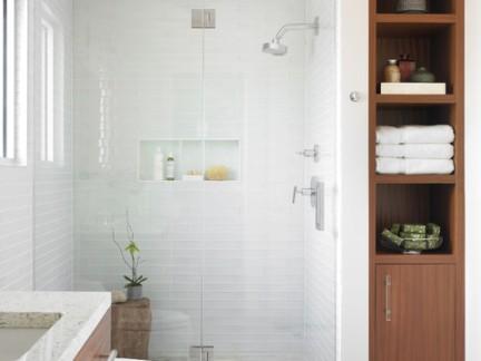 清新别墅卫生间浴室柜装修设计