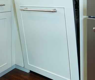 美式小型厨房橱柜门图片欣赏