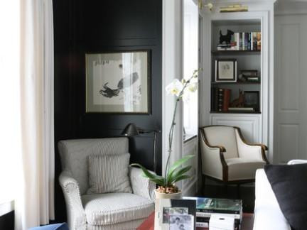美式风格小户型客厅室内沙发布置图片欣赏