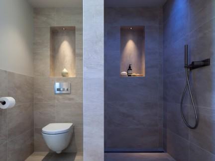 素雅色调简约风格卫生间淋浴间样板房