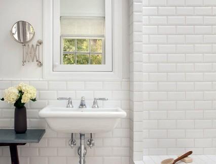美式风格小户型卫生间墙上瓷砖装修设计