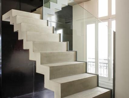 现代简约风格别墅楼梯设计美图一览