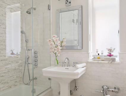 华丽北欧浴室卫浴装修设计