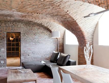创意设计别墅地下室木制家具装修设计