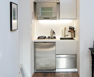 现代风格小户型厨房橱柜整体设计图赏析