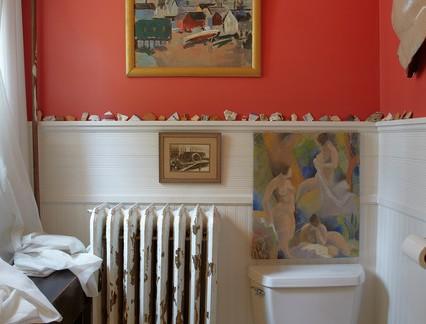 美式风格小户型卫生间墙裙装修设计
