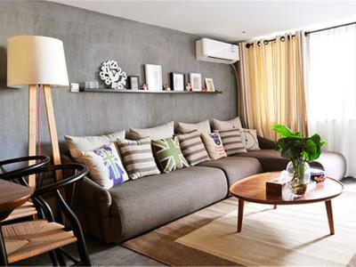 中式古典-35平米一居室装修样板间