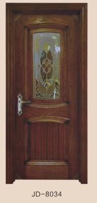 富丽门业JD-8034玻璃门