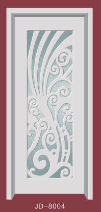 富丽门业JD-8004玻璃门