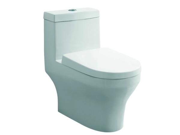 尚高卫浴-连体座坐便器抽节水静音冲水马桶高温陶瓷
