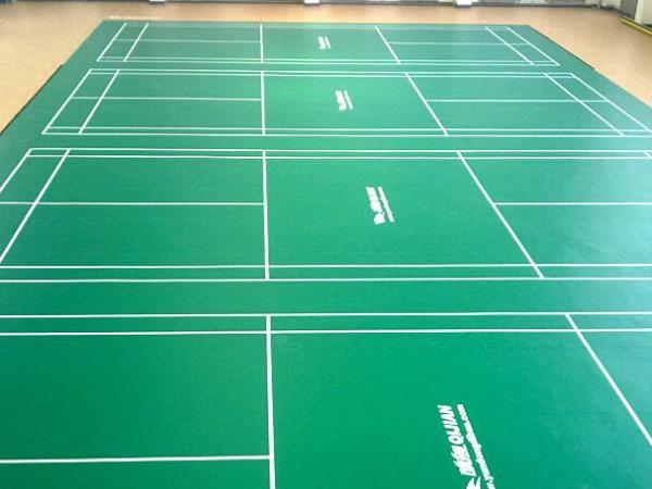 天津羽毛球pvc运动地板