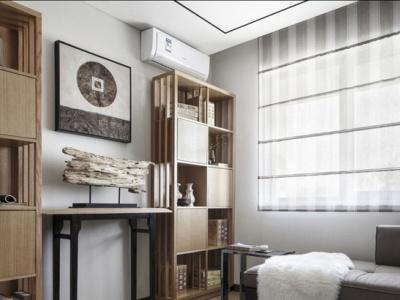 新中式-143平米三居室装修样板间
