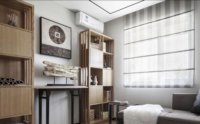 新中式-143平米三居室-装修样板间