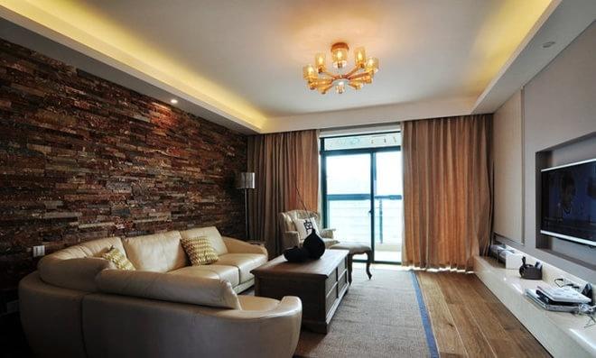 简欧风格-212平米三居室-装修样板间